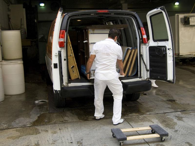 Van overloading