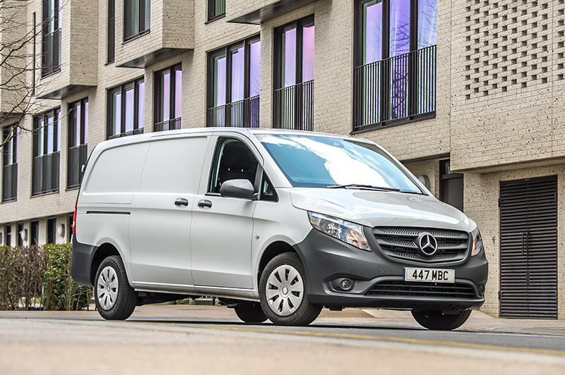 The new Mercedes-Benz Vito which will be on a nationwide tour