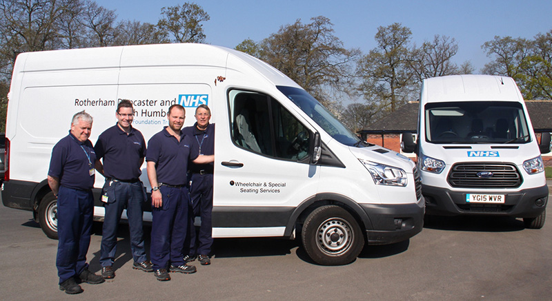 Alphabet has helped supply new mobile workshops to offer repair services to wheelchair usersAlphabet has helped supply new mobile workshops to offer repair services to wheelchair users