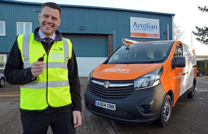 Michael Shepherd, Fleet Manager for Anglian Home Improvements