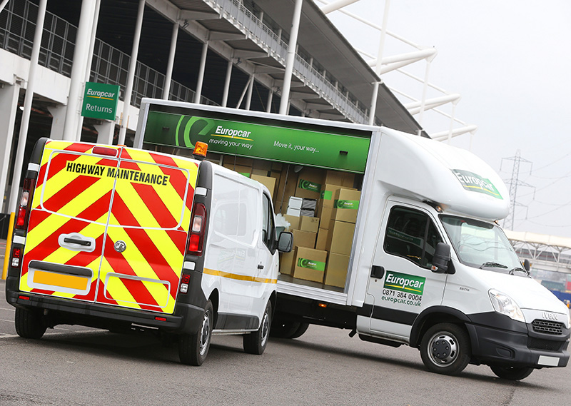 Europcar launches specialist Van Supersites