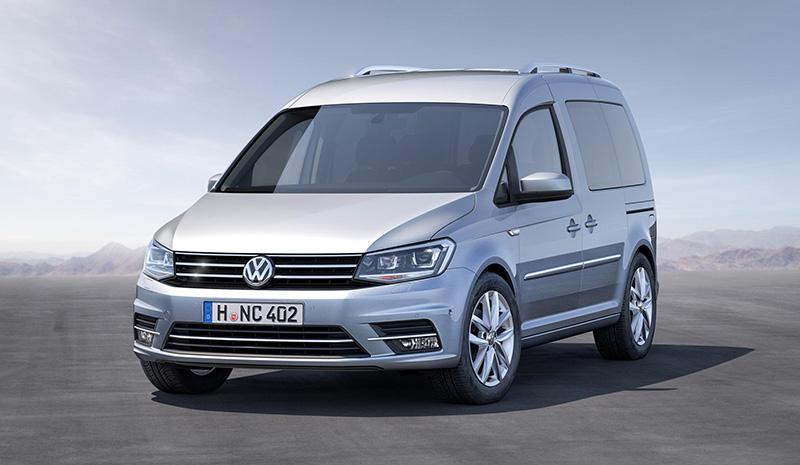 New Volkswagen Caddy prices