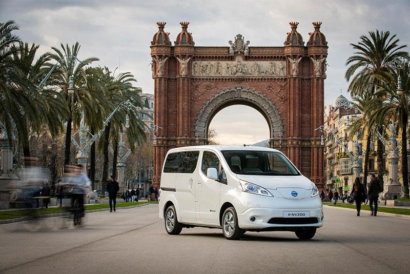 Nissan hopes its lucky seven for e-NV200
