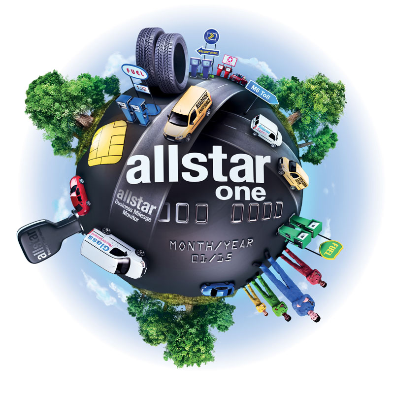 Allstar one world graphic