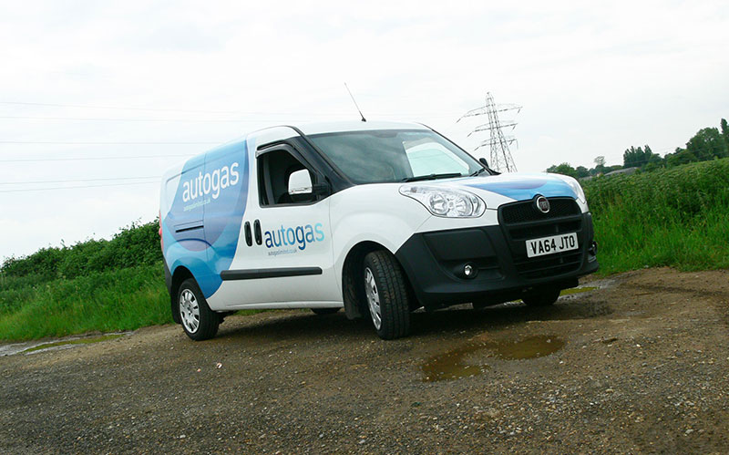 Fiat Doblo Cargo Maxi Autogas LPG conversion