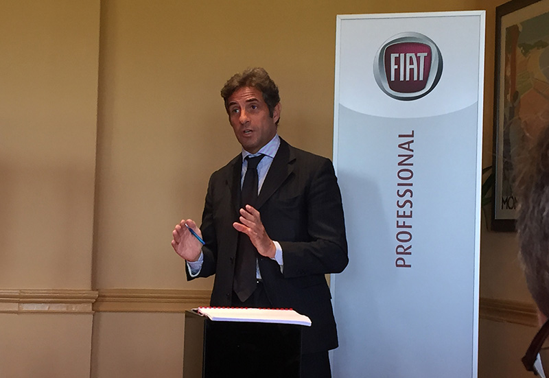 Domenico Gostoli the new CEO of Europe, the Middle East and Africa at Fiat Professional