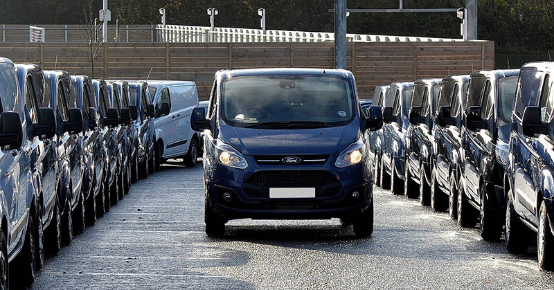 Ford Transits topped UK theft list in 2015