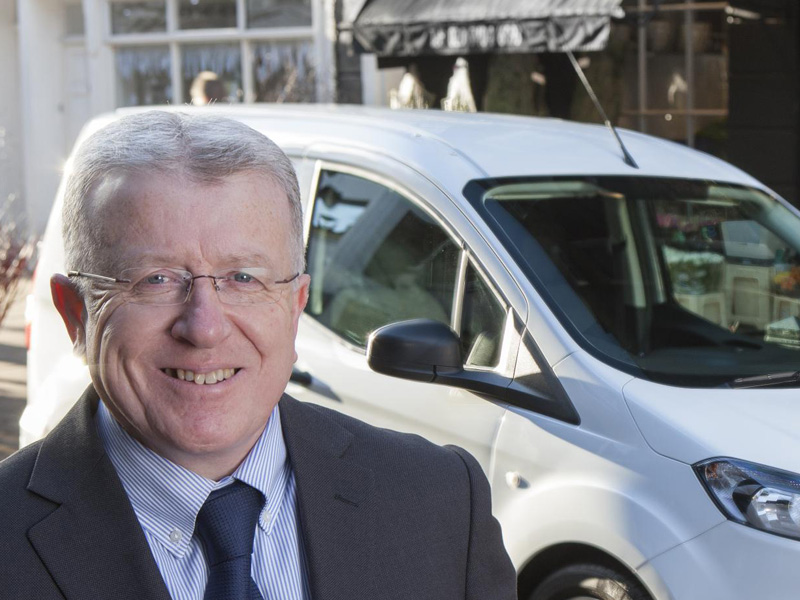 Terry Rayner, Ford Transit Centres Director