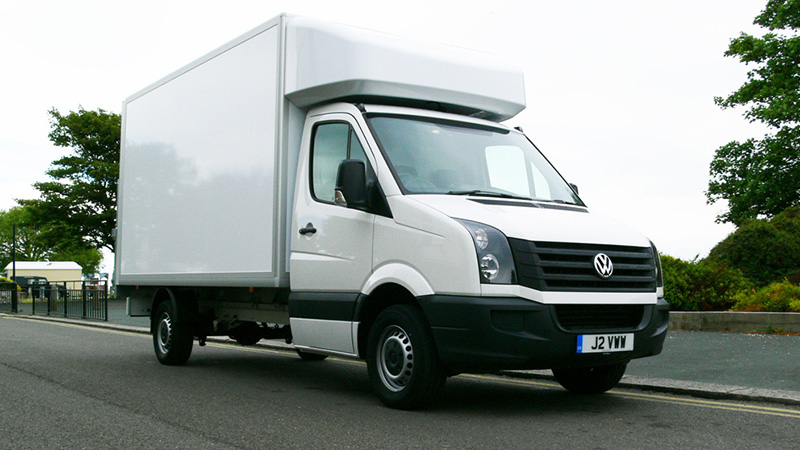 Volkswagen Crafter Luton 163 LWB review: the big, strong mover