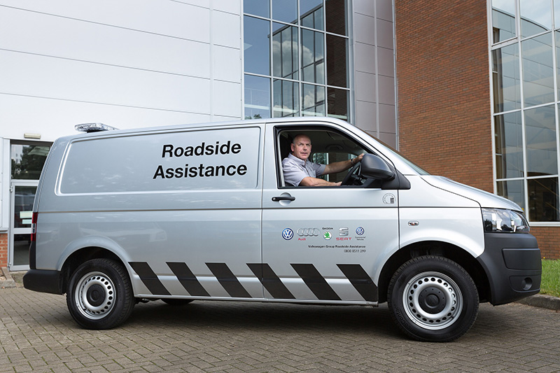 Free roadside assistance for owners of older Volkswagen vans