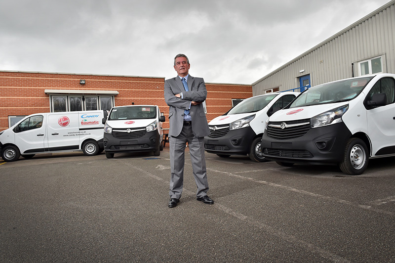 Neil Parsons, Fleet operations Manager from Hoover Candy