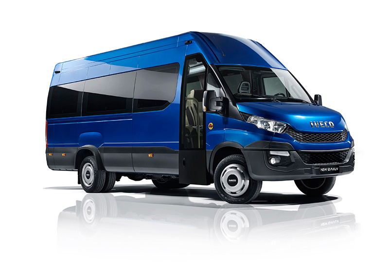 The Iveco Daily minibus