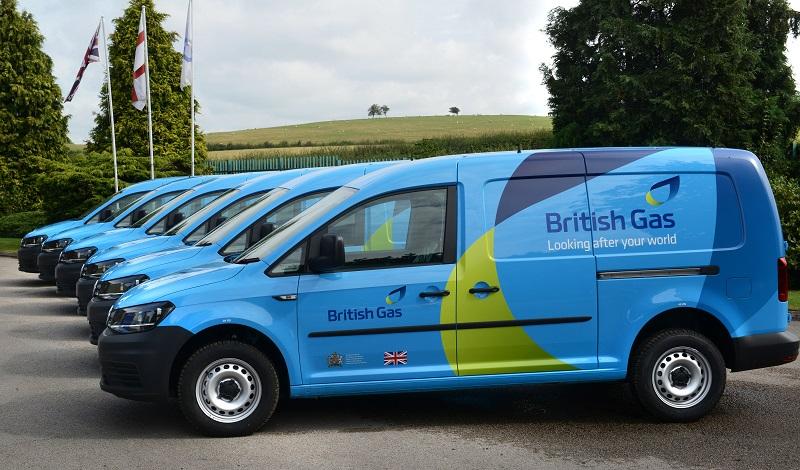 British Gas Is Renewing Its Fleet Of More Than 8000 Volkswagen Caddy Vans