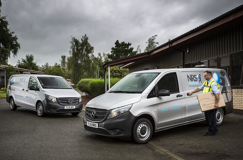 NRS Vito vans on contract hire