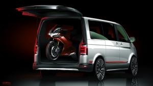 The Volkswagen Multivan PanAmericana concept