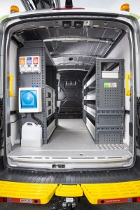 Bott provided the racking for specialist tools and light bars