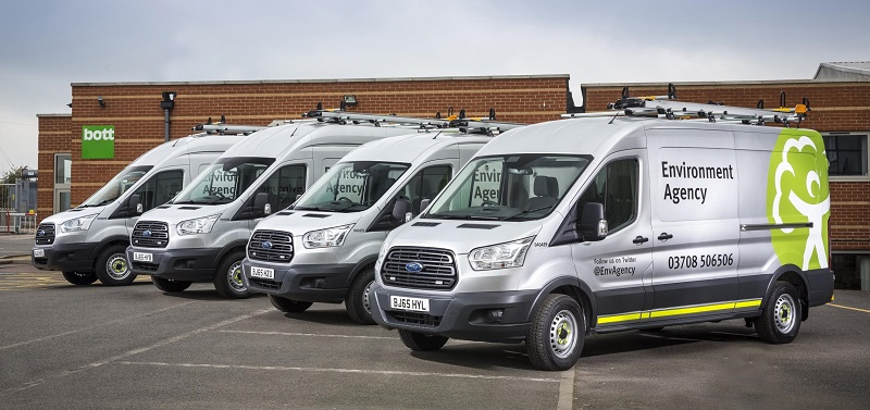 Ford Transit 350 AWD chosen by the Environment Agency