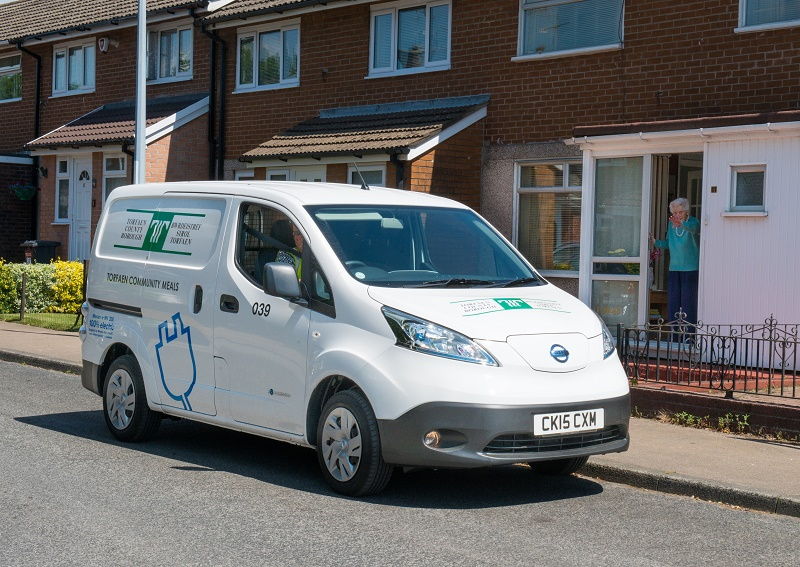 Nissan e-NV200 Van would beat new London emission clampdown