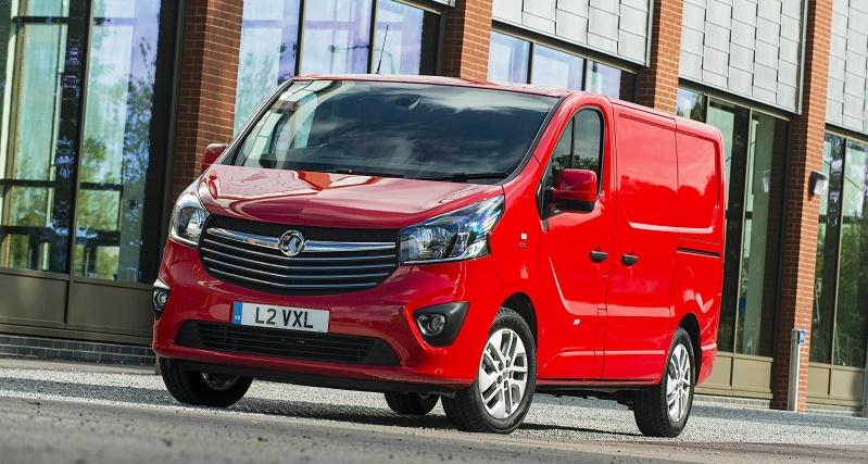 Luton-built Vauxhall Vivaro van