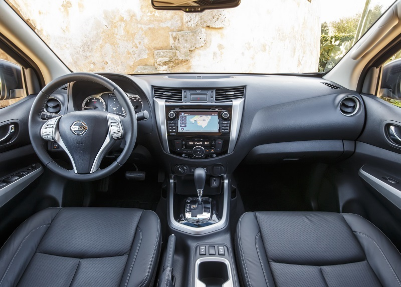 Cabin of the new Navara