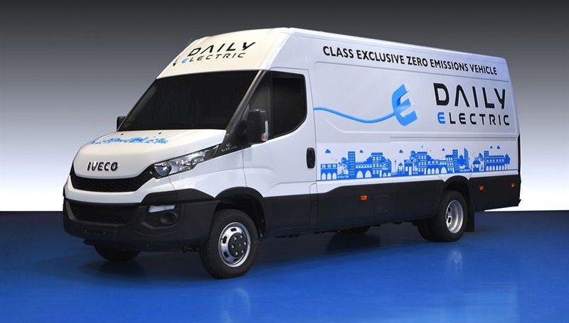 Lease Used Mercedes >> Iveco New Daily Electric | Business Vans