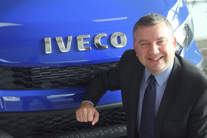 Iveco light commercials director Ian Lumsden