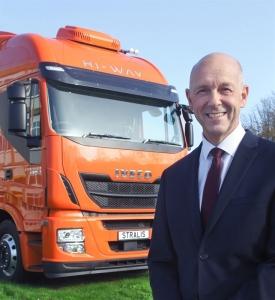 Iveco truck director Nick Pemberton