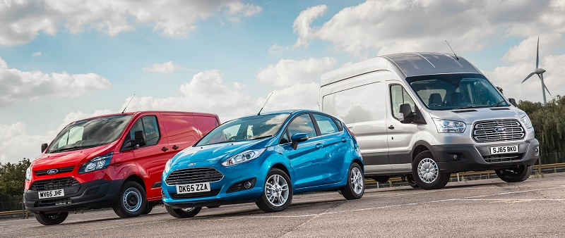 The 2015 Ford Transit range