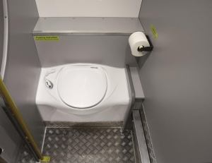 Optional toilet in Movano