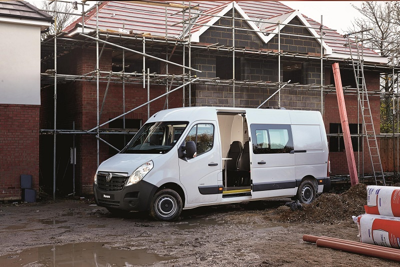The Clarks converted Vauxhall Movano welfare van
