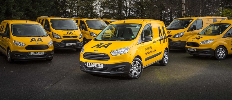 AA Transit Courier It is one of the largest orders to date for the Ford Transit Courier