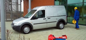 Ford Transit Connect a decade ago