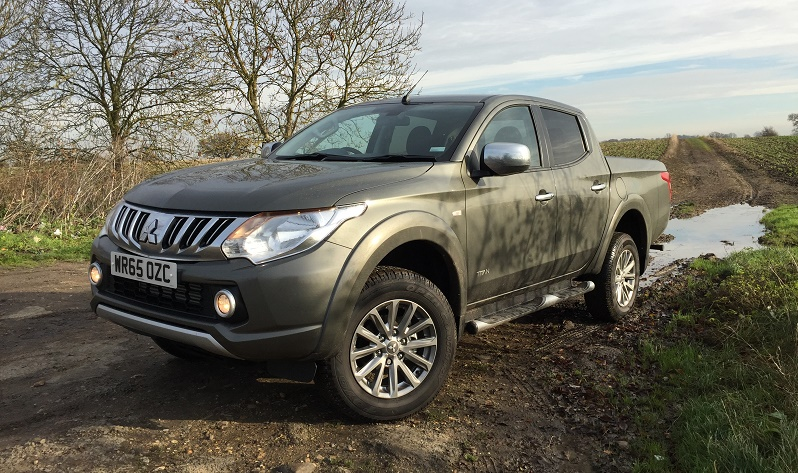 Mitsubishi L200 Titan in Five of the hottest new pick-ups for 2016