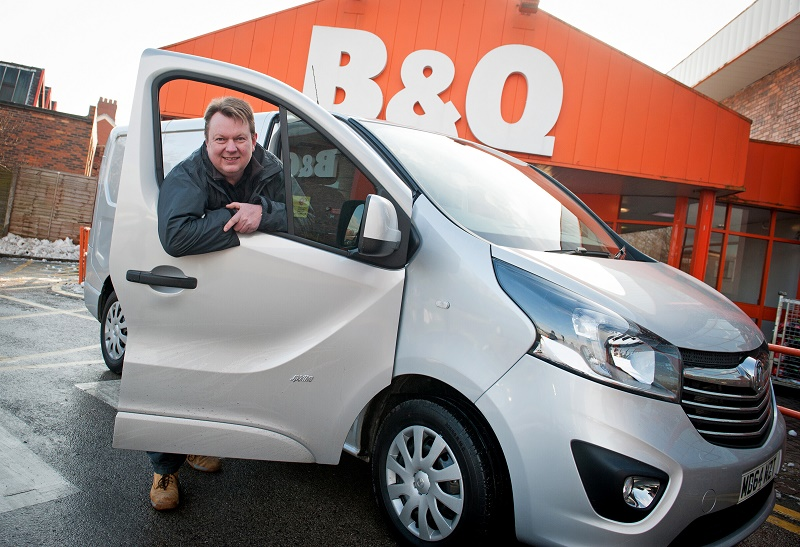 David and his Vauxhall Vivaro