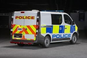 Vivaro police van