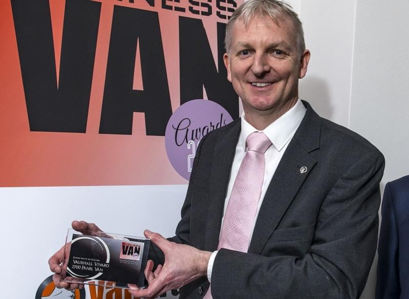 Brad Miller, product manager, Vauxhall: Best Heavy Van