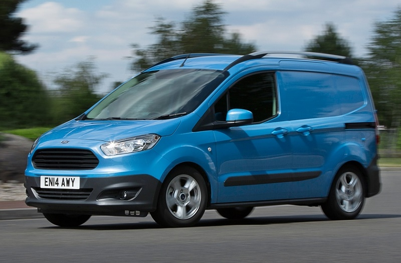 ford transit courier best small delivery van