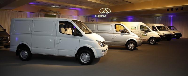 LDV vans launched at CV Show