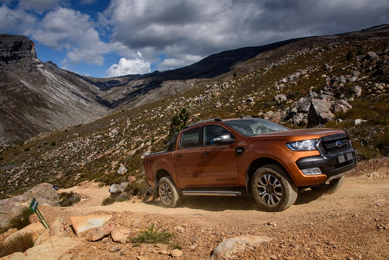 Ready to rough it: The new Ford Ranger Wildtrak