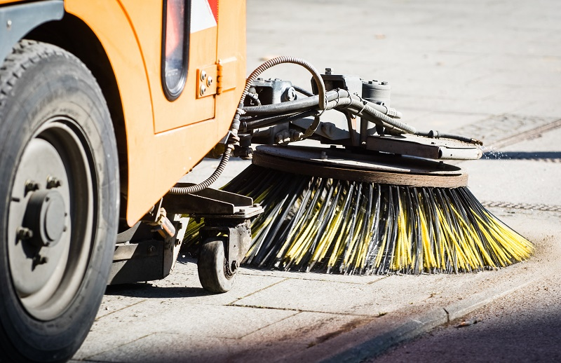 Street cleaning is part of the council's remit