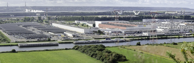 Renault Group's Sandouville plant in Normandy