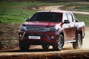 Toyota Hilux launch at CV Show
