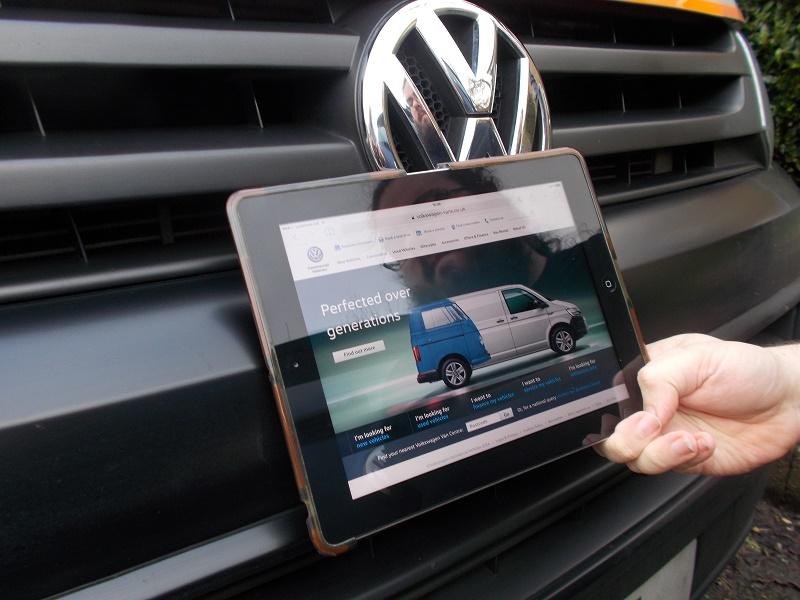 VW iPad