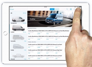 VW sales tool at your fingertips