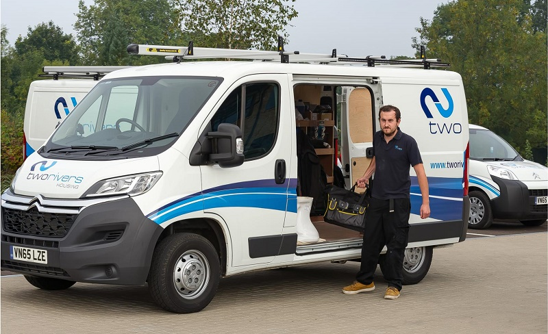 All-Citroen fleet for Two Rivers Housing's maintenance team
