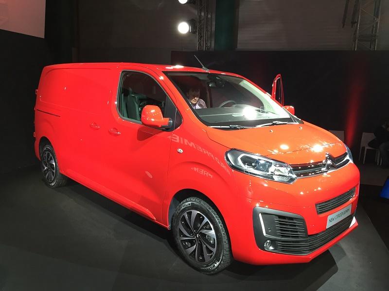 New Citroen Dispatch And Peugeot Expert Business Vans