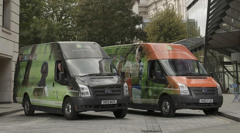 Commercial's hydrogen vans in London