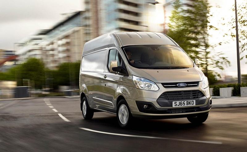 Ford Transit Custom is the UK CV top seller