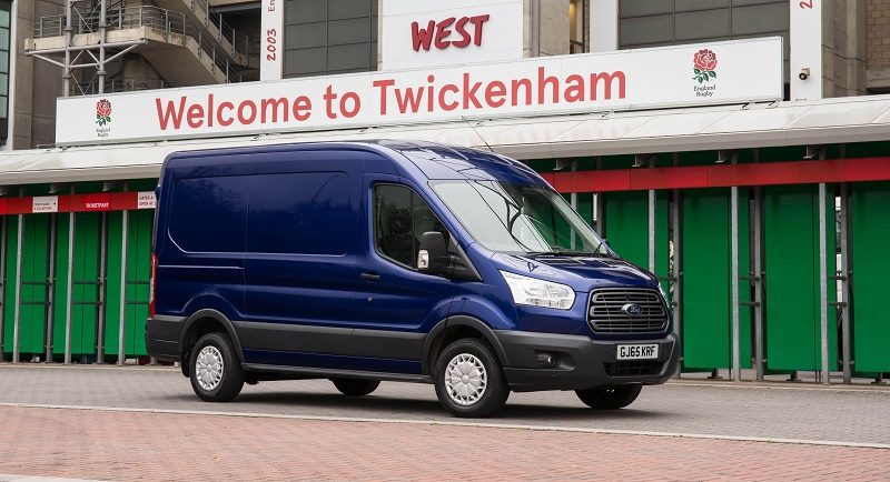 Ford Transit is second in UK CV sales