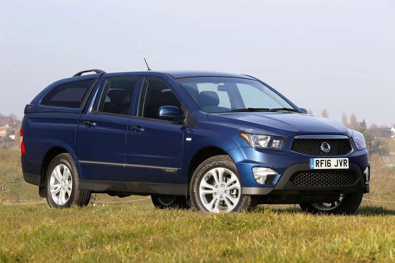 ssangyong 39 s korando double cab pick up business vans. Black Bedroom Furniture Sets. Home Design Ideas